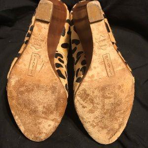 Steve Madden Shoes - Steve Madden Leopard Wedge Heels